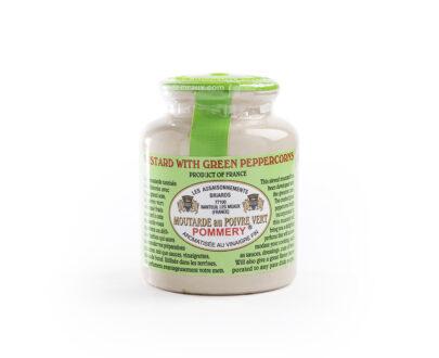 Senape francese al pepe verde