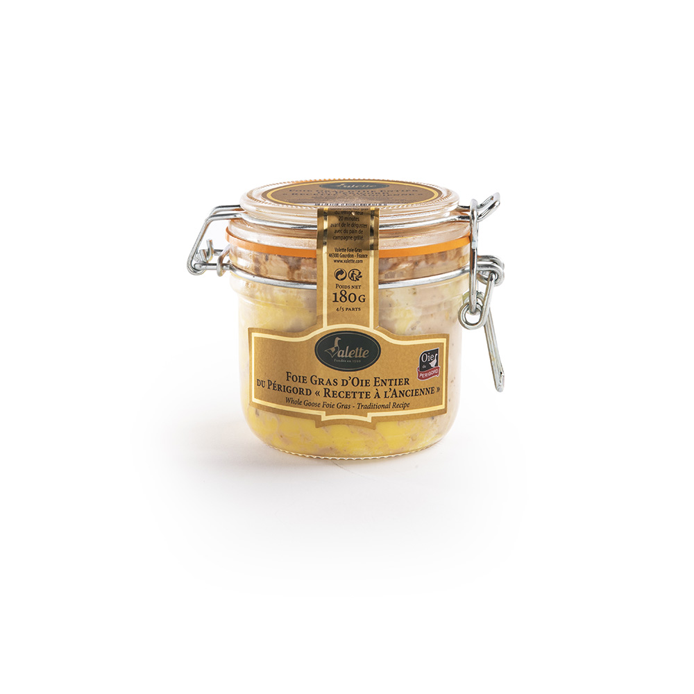 Foie gras oca intero