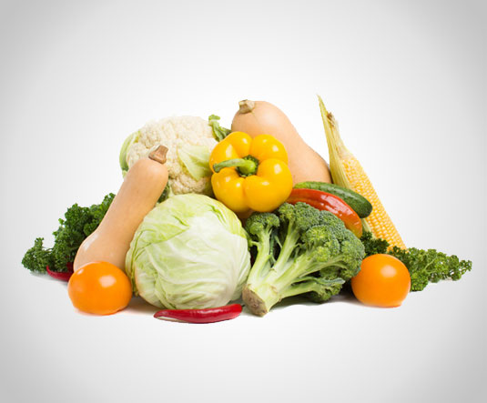 Frutta verdura e legumi