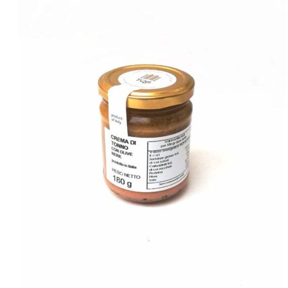 crema tonno olive nere