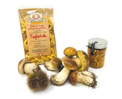 Tagliatelle funghi porcini e chiodini