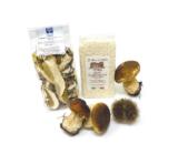 Riso carnaroli con funghi porcini