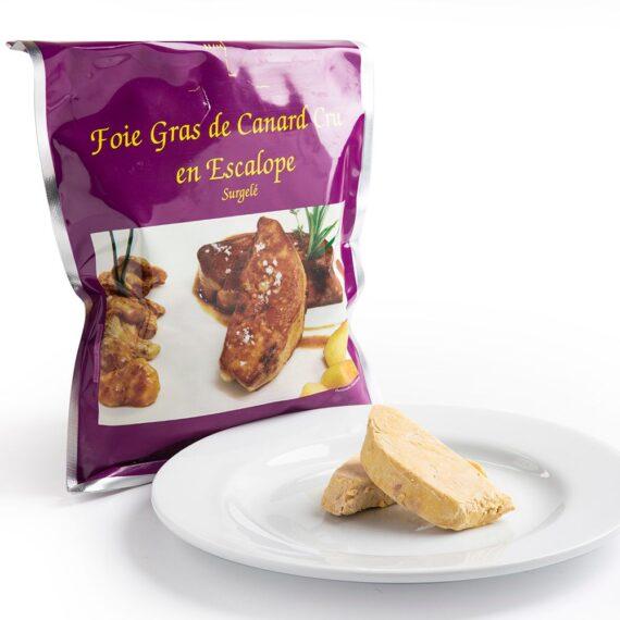 Foie gras anatra a fette